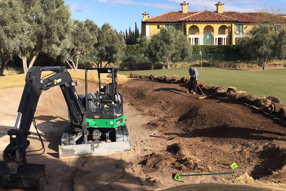 construction at TPC Summerlin